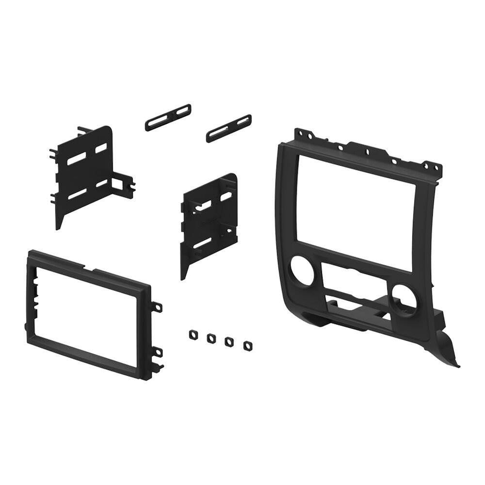 Boss In Dash Car Stereo Audio Receiver   Mounting Kit   Wire Harness   Adapter