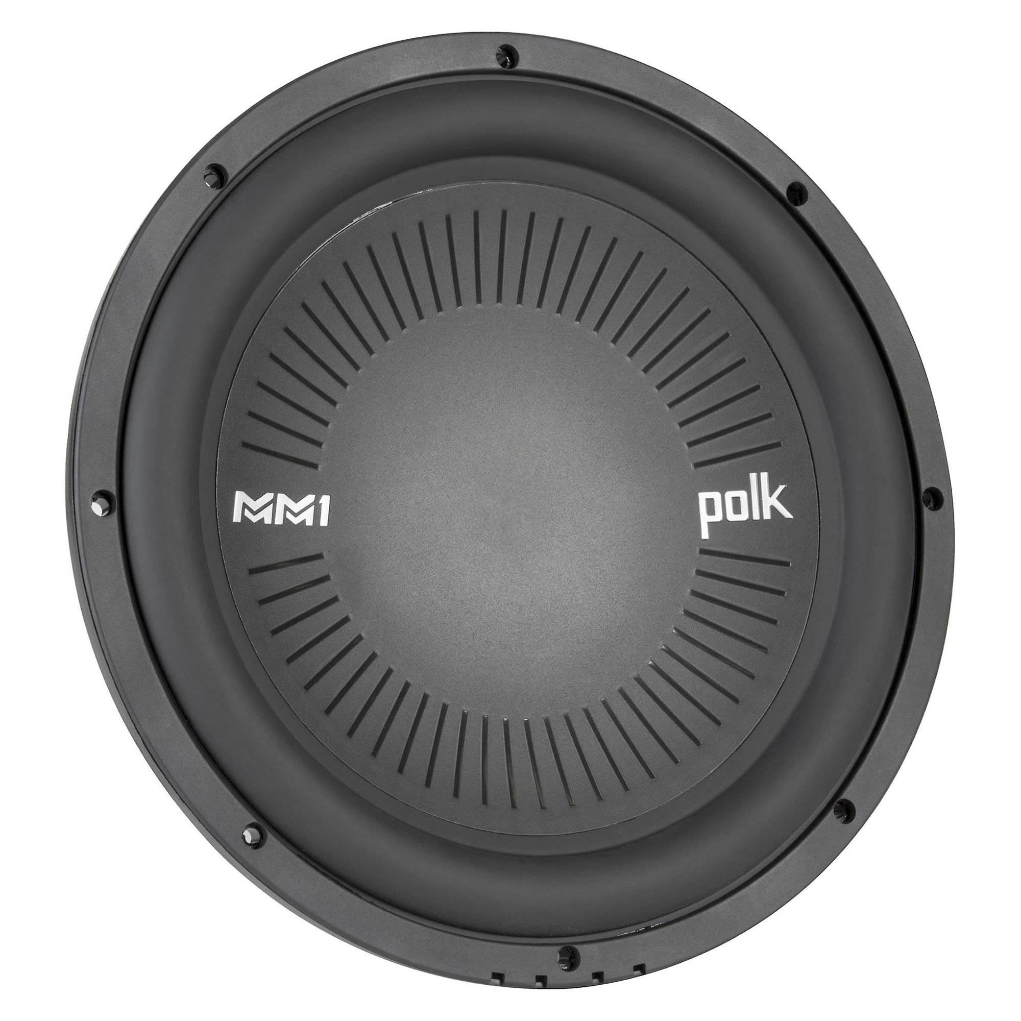 Polk MM1 Series 10 1200W 4 Ohm Single Voice Coil Marine