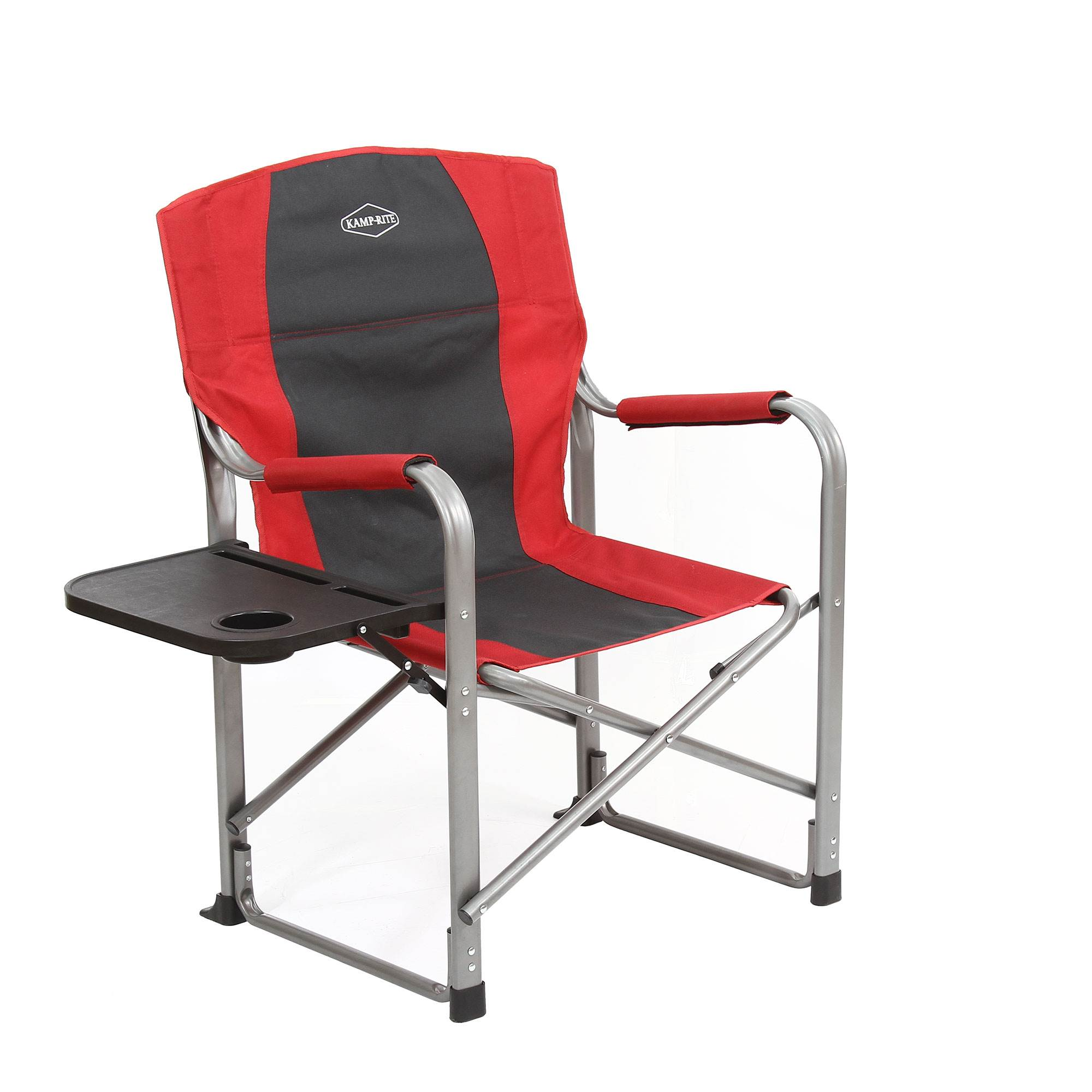 Kamp-Rite CC118 Outdoor Camp Folding Director/'s Chair with Side Table /& Cooler