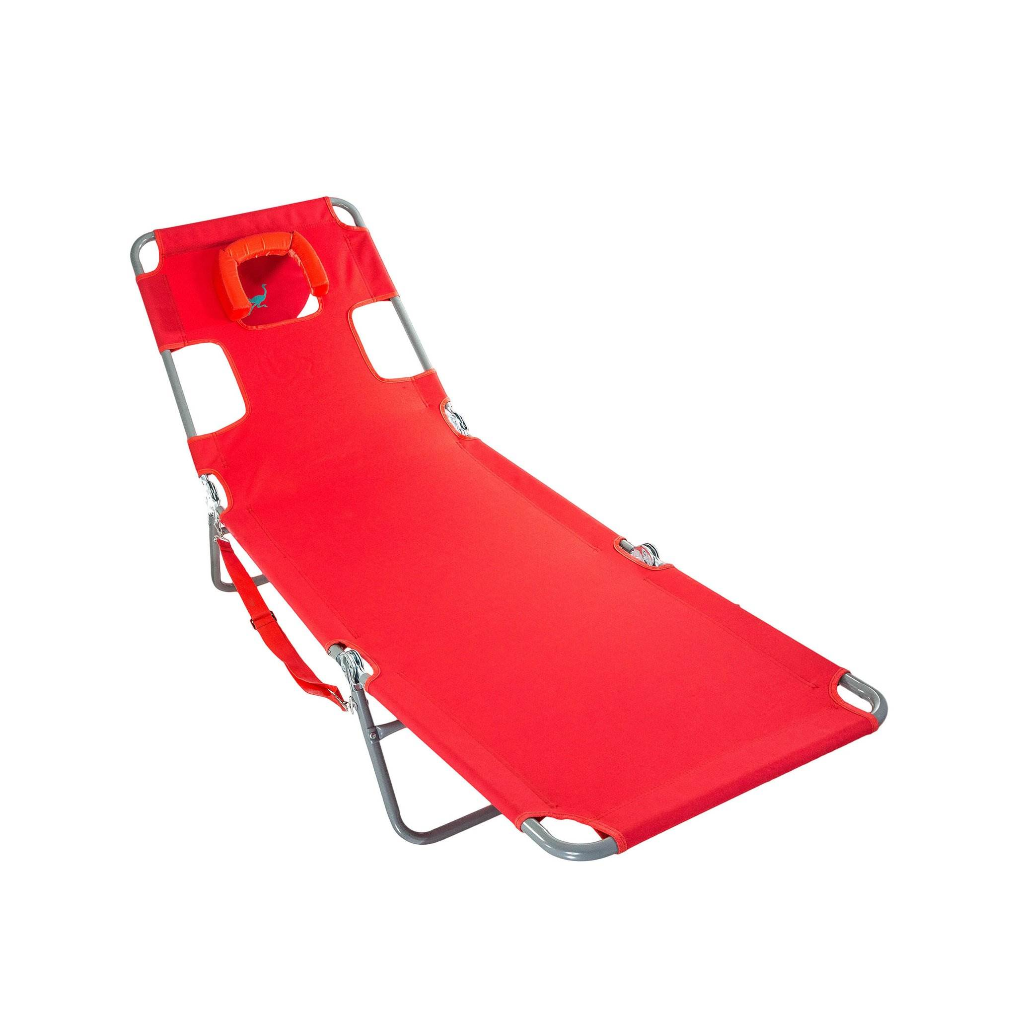 Ostrich Chaise Lounge Folding Portable Sunbathing Poolside ...