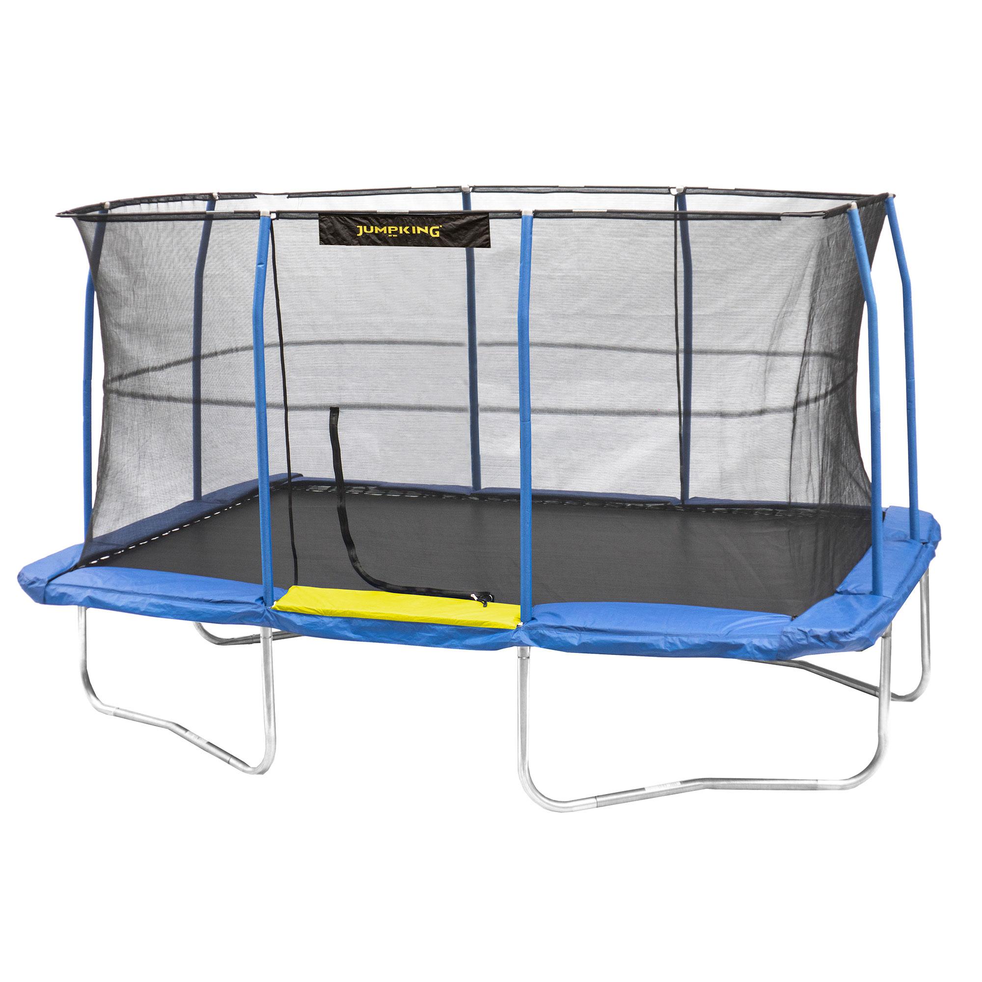 10 x 14 foot enclosed rectangular trampoline