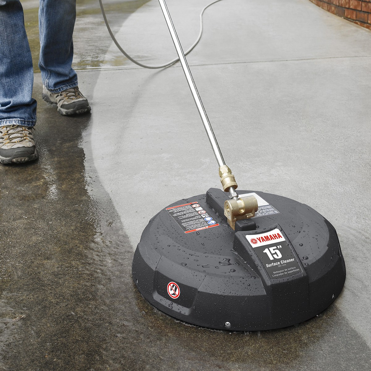 Yamaha 15 Inch Surface Cleaner Pressure
