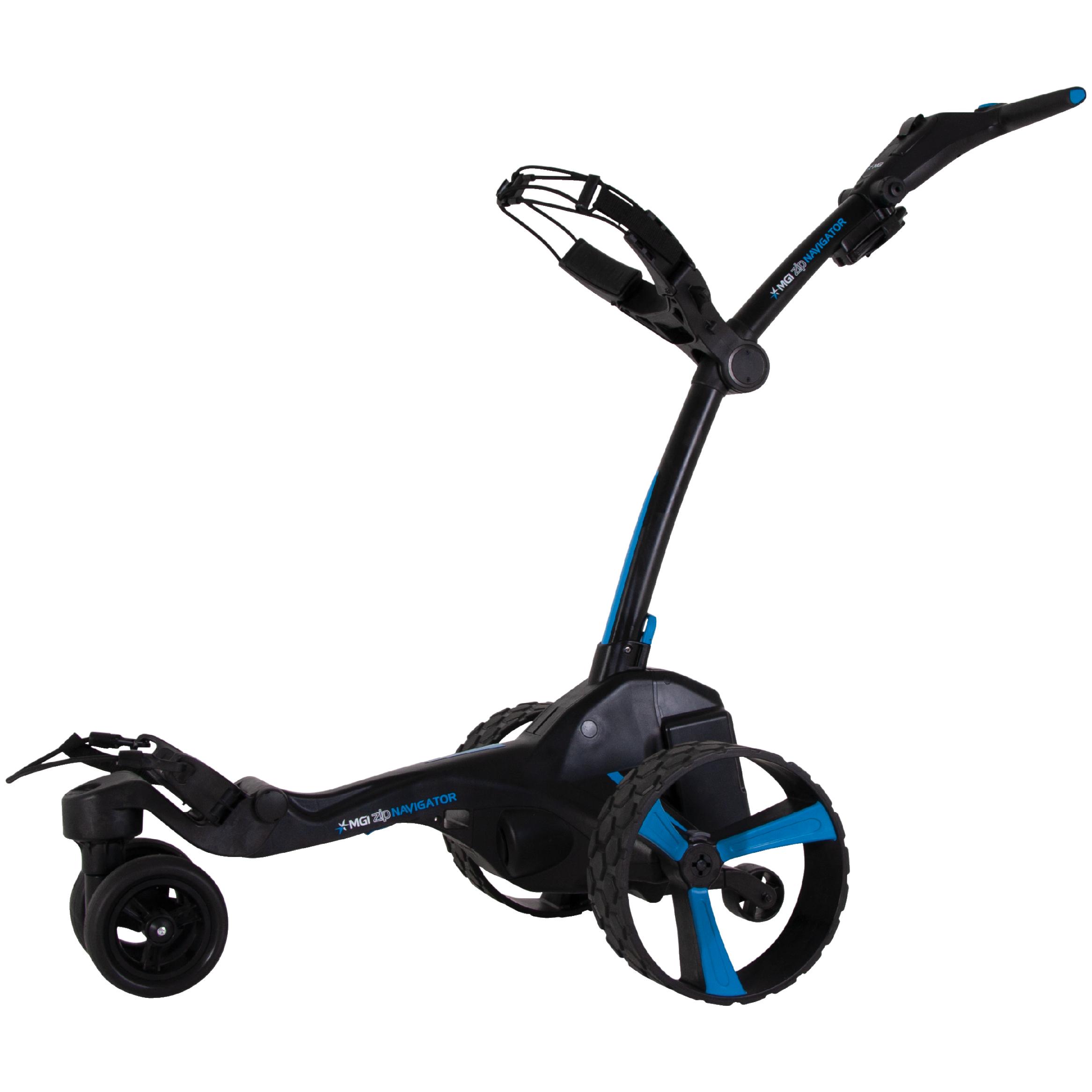 Mgi Zip Navigator Lithium Battery Electric Golf Push Cart