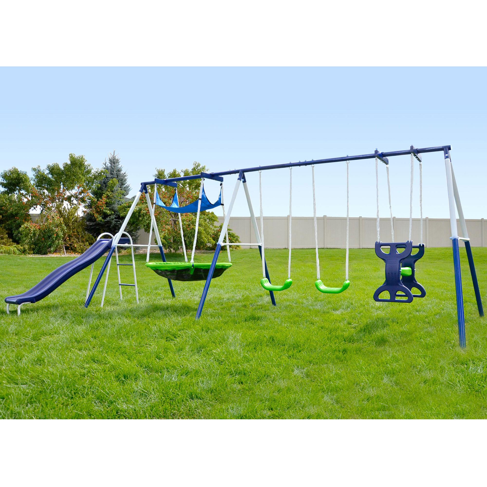 Sportspower Rosemead MSC-3782-BM 7 Child Metal Playground ...