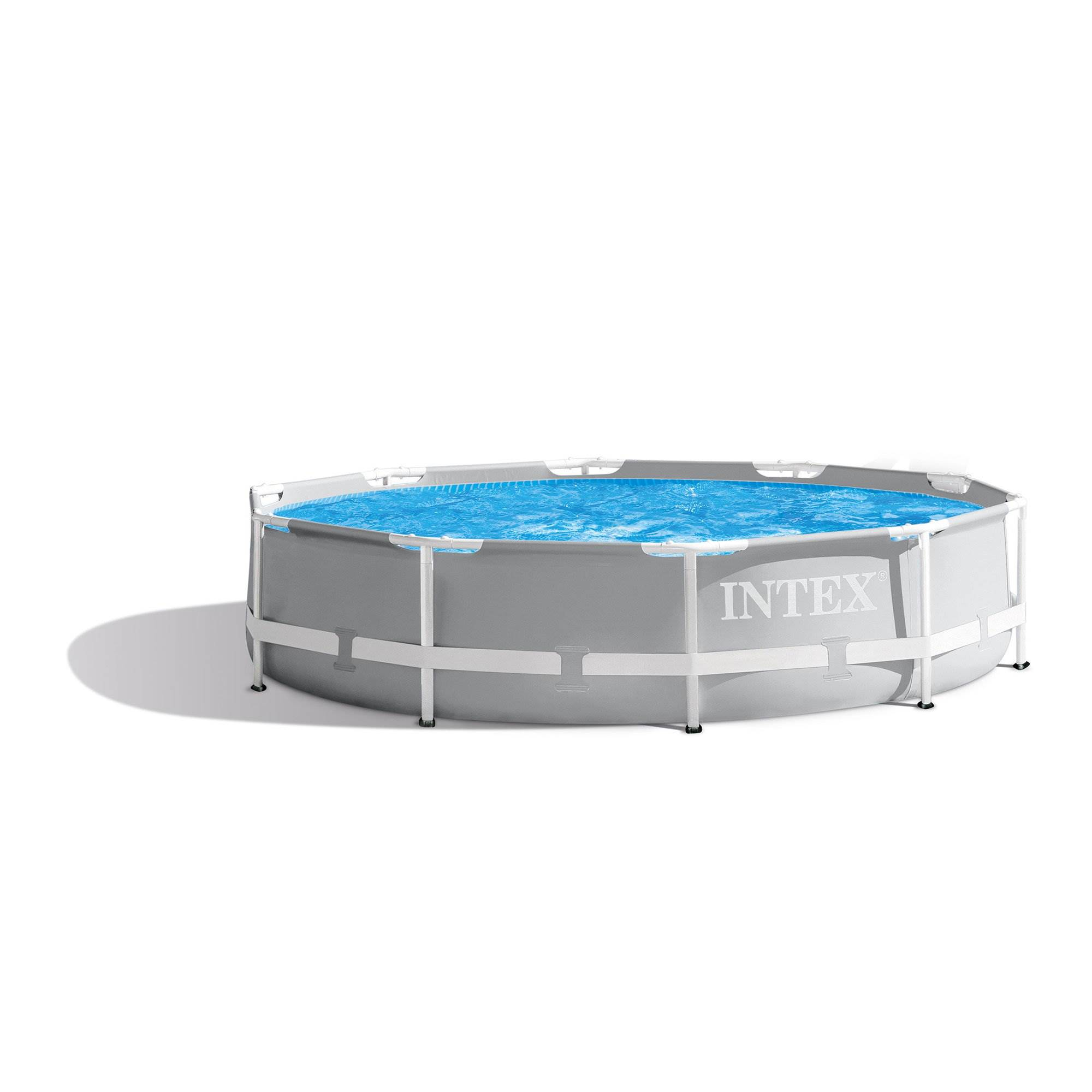 Intex 10 Feet X 30 Inches Prism Frame Above Ground Swimming Pool Open Box 78257267002 Ebay
