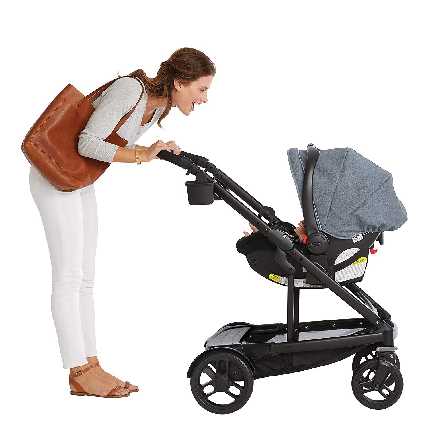 Graco Uno2Duo Baby Single Double Stroller & Infant Car ...