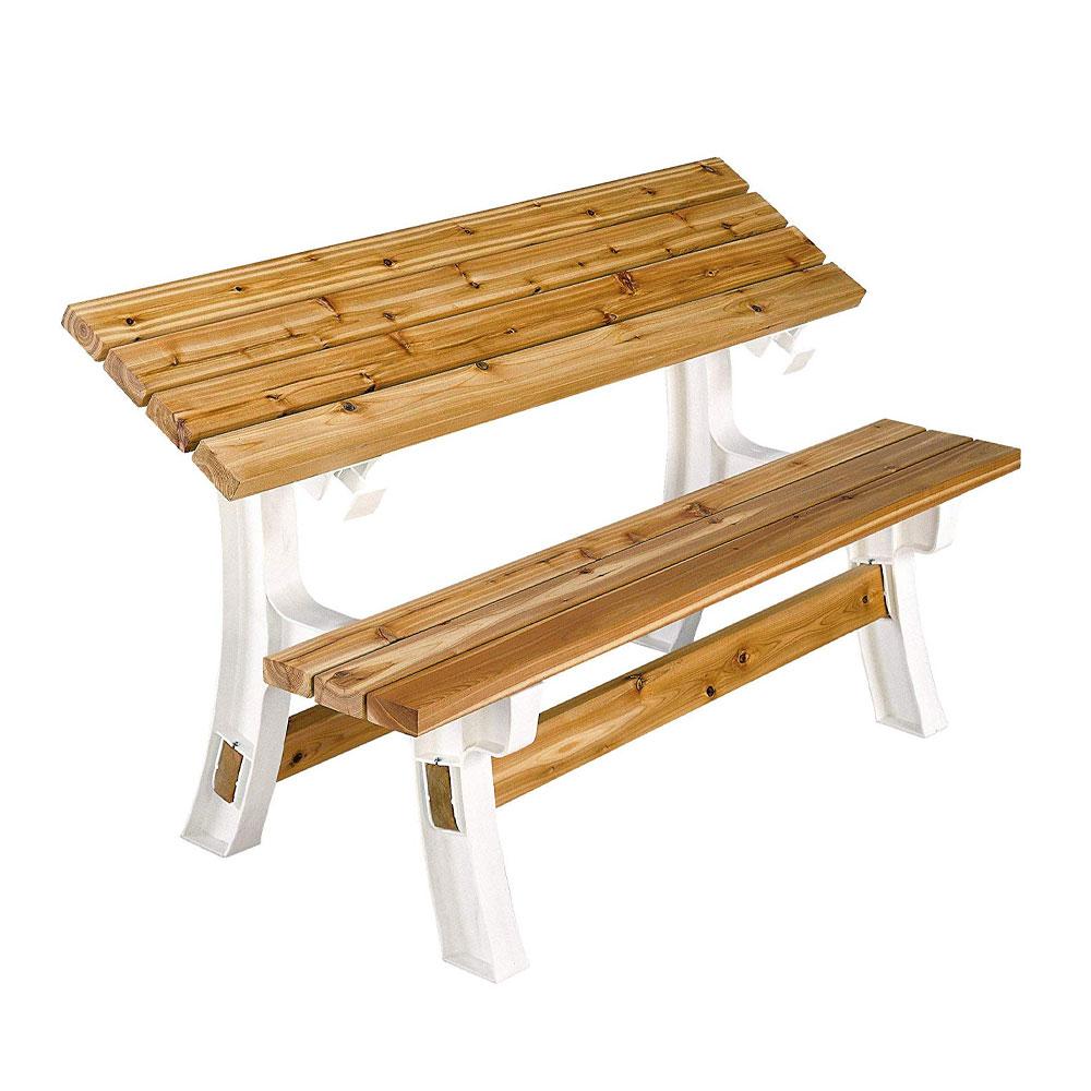 Phenomenal Details About 2X4 Basics Wood Convertible Custom Flip Top Outdoor Bench Hardware Kit Sand Dailytribune Chair Design For Home Dailytribuneorg