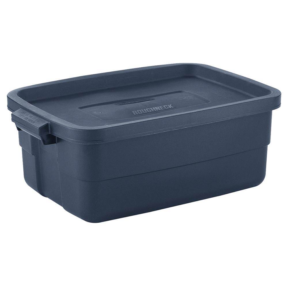 Rubbermaid Roughneck 10 Gallon Rugged Stackable Storage