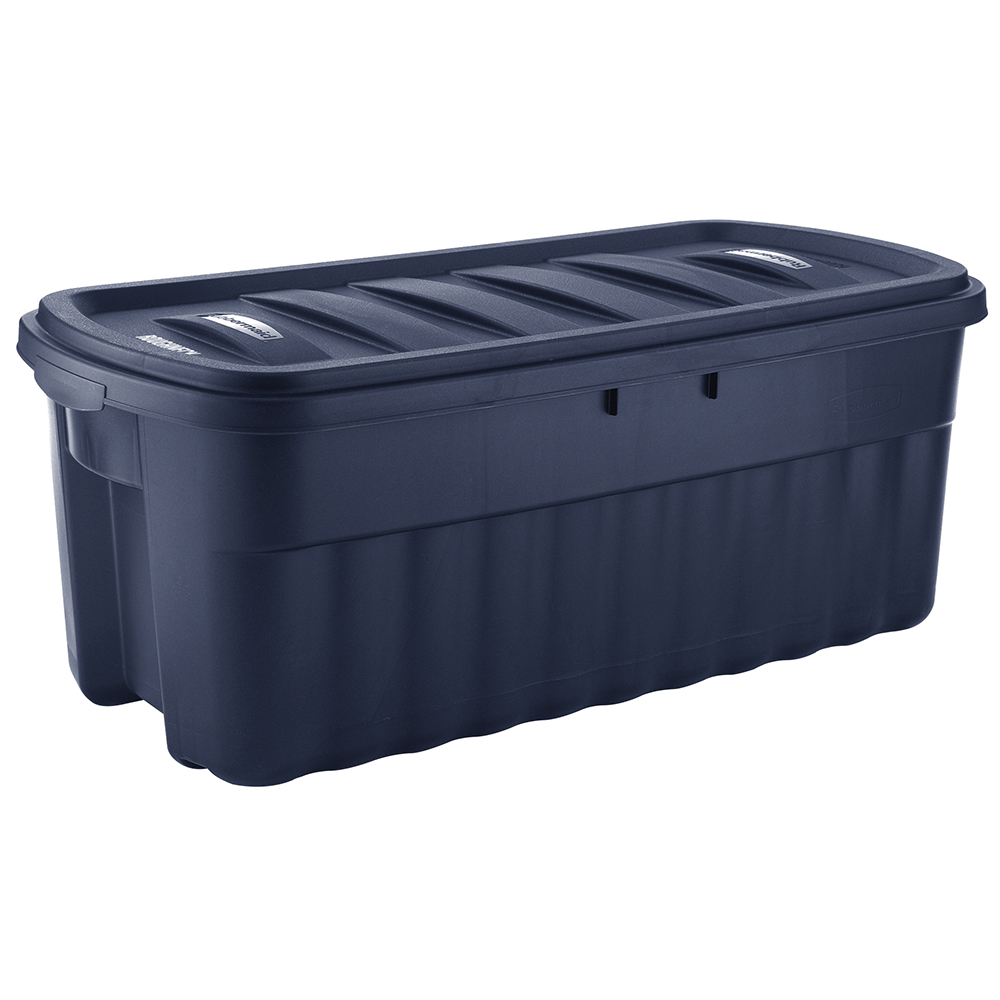 Rubbermaid Roughneck 50 Gallon Rugged Stackable Storage