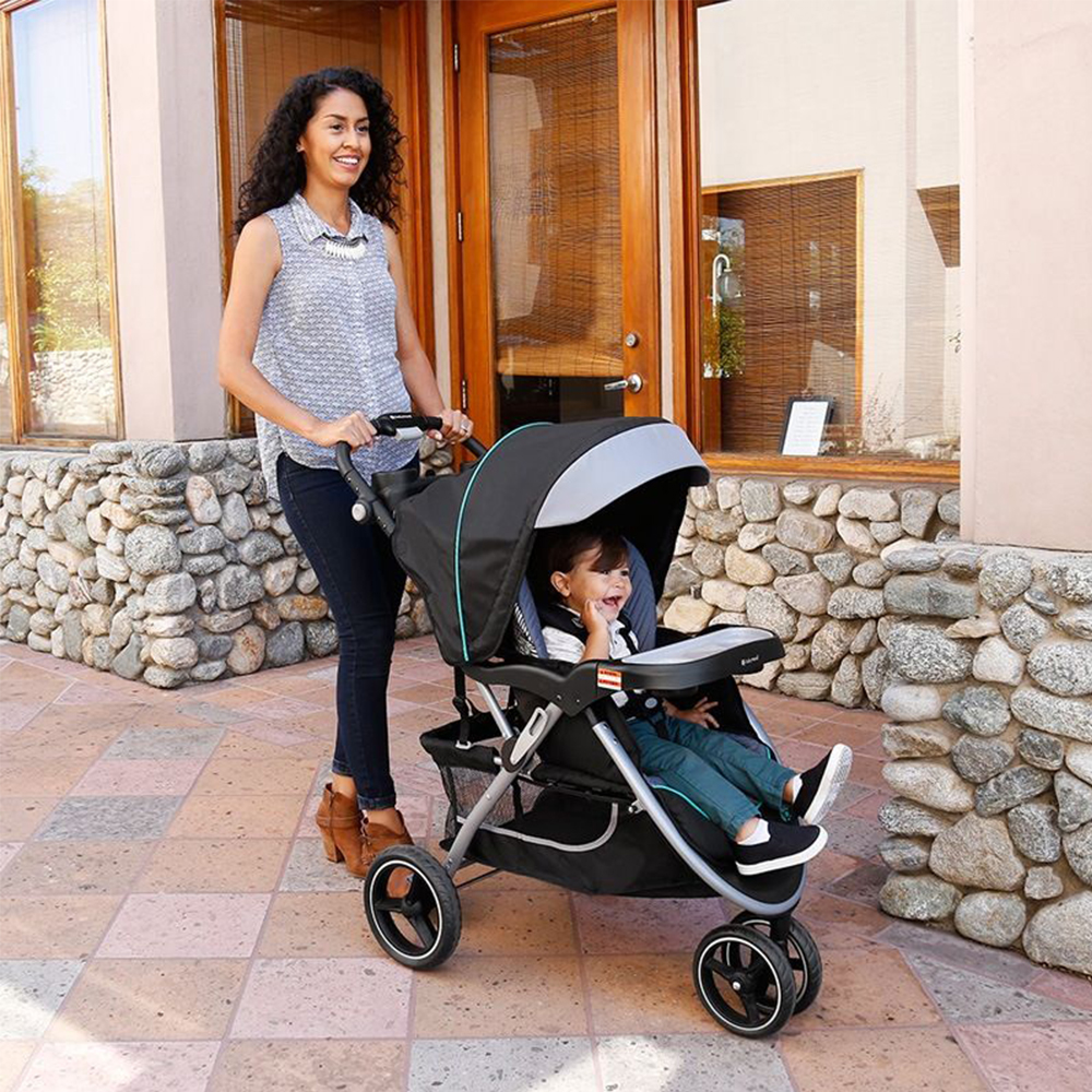 Baby Trend Skyview Plus Adjustable Stroller And Car Seat