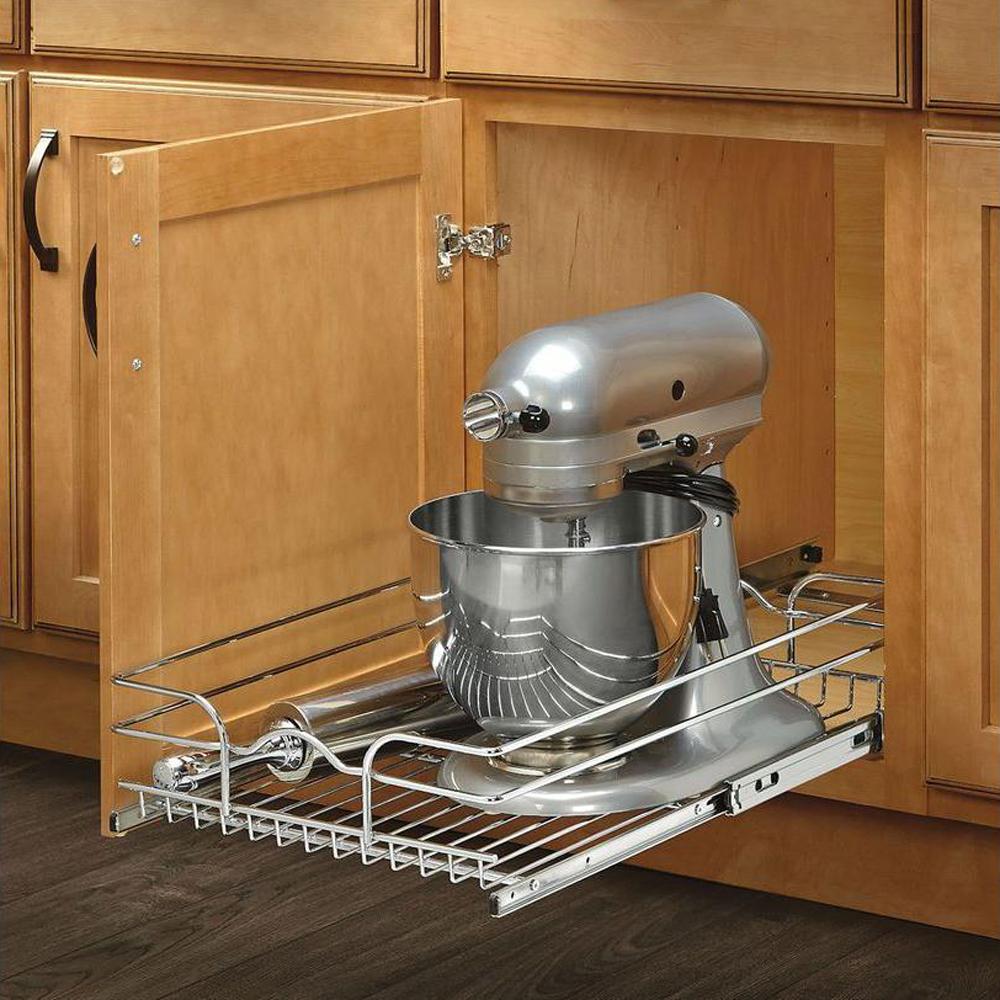 Rev-A-Shelf 12 Inch Wide 22 Inch Deep Base Kitchen Cabinet ...