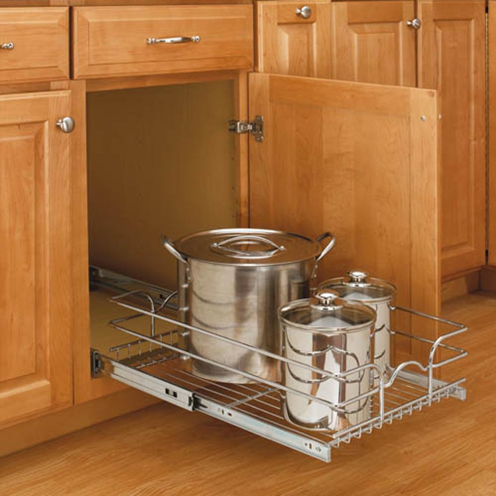 Rev-A-Shelf 21 Inch Wide 22 Inch Deep Base Kitchen Cabinet ...