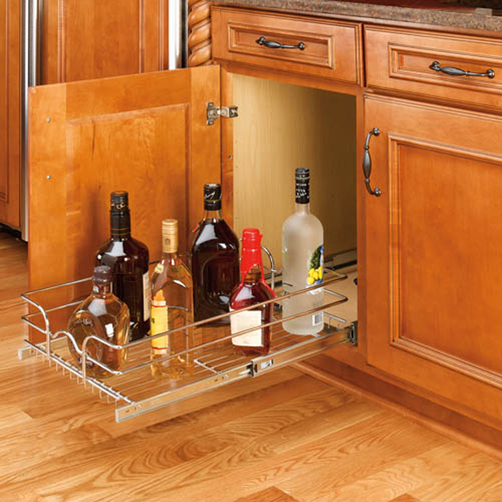 Rev-A-Shelf 15 Inch Wide 20 Inch Kitchen Cabinet Pull Out ...
