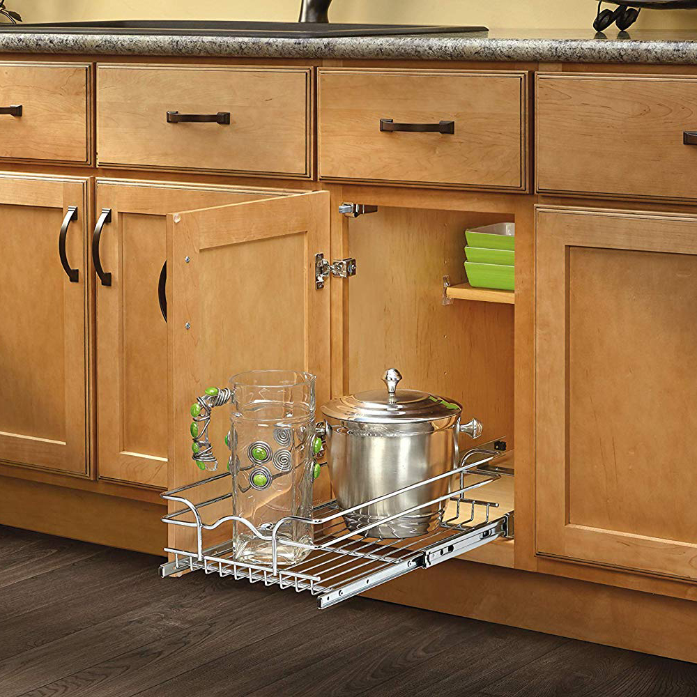 Rev-A-Shelf 15 Inch Wide 20 Inch Deep Base Kitchen Cabinet ...
