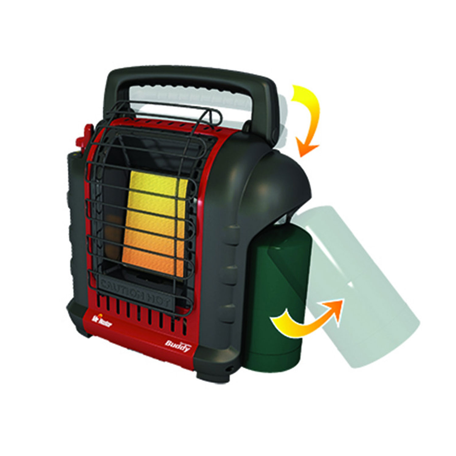 Mr. Heater Portable Buddy Indoor Outdoor Propane Garage ...