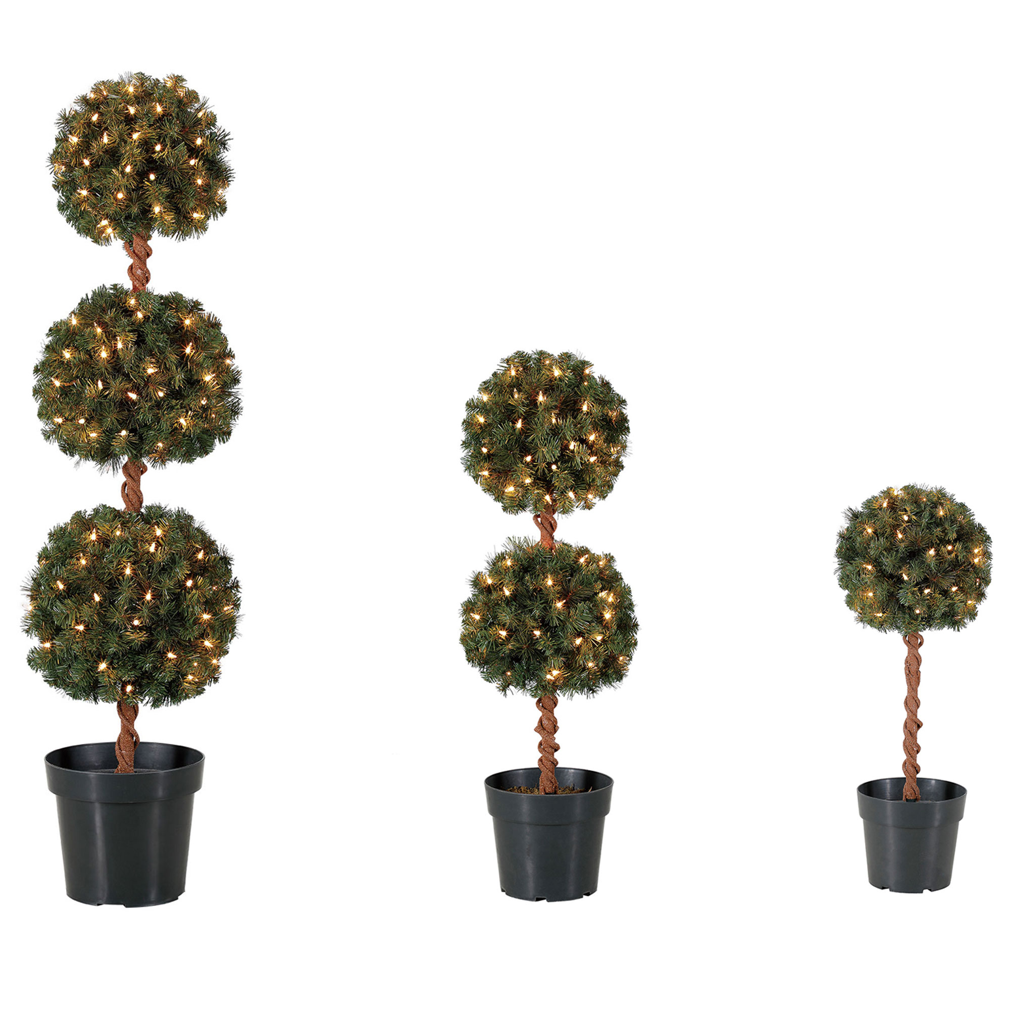 Artificial Topiaries Home Kitchen Home Decor Home Heritage 4 Foot Artificial Topiary Tree W Clear Lights For Entryway Decor Artificial Plants Flowers Viventodvere Sk