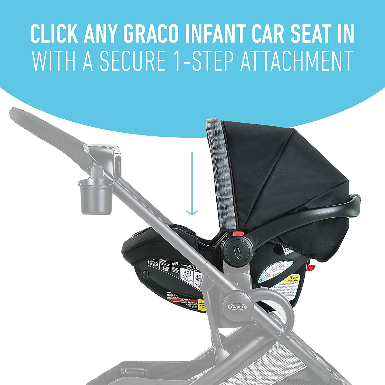 Graco Modes2Grow 4 in 1 Convertible Double Stroller ...