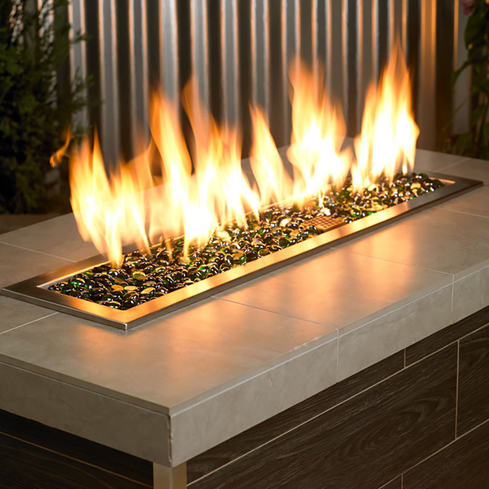 American Fireglass 3/4-Inch Fireplace and Fire Pit Beads ...