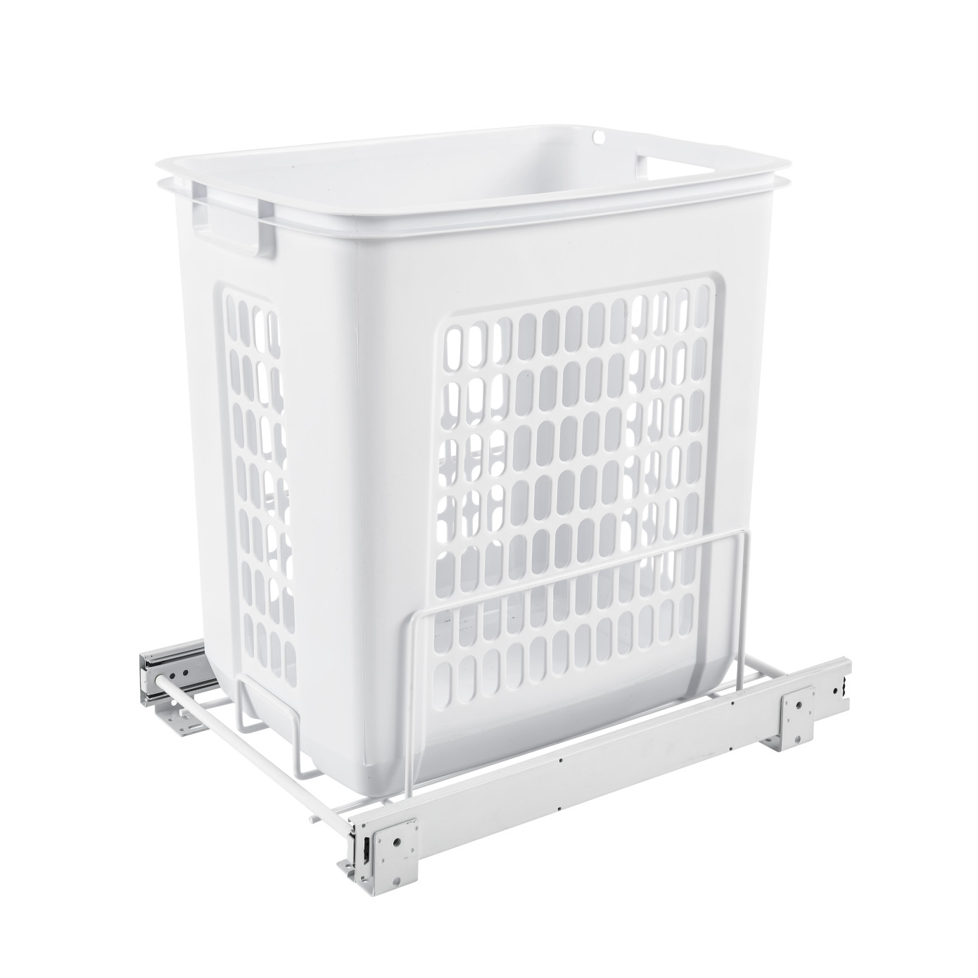 Rev A Shelf Hprv 15020 S Large 20 Inch Pullout Polymer Clothes Hamper White 90713029016 Ebay