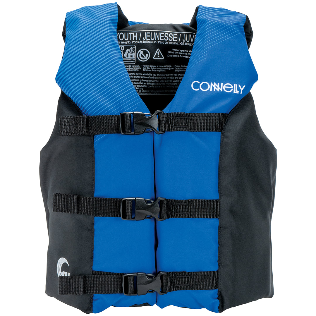 Connelly Coast Guard Approved Nylon Youth Child Water Sport Lake ...