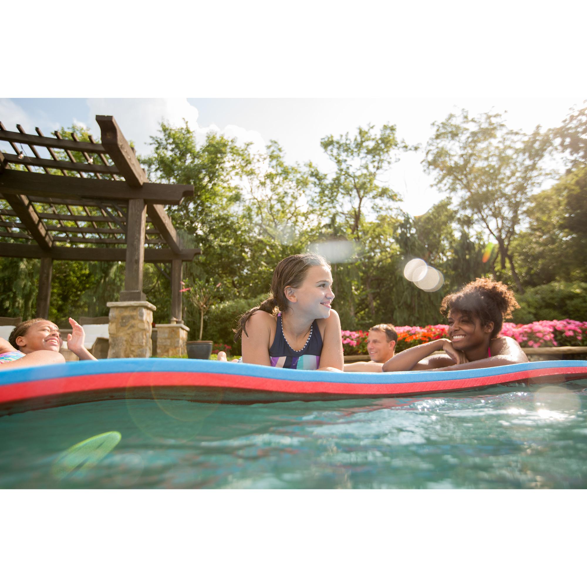 Floatation iQ Floating Oasis 15 x 6 Ft Foam Island Water ...