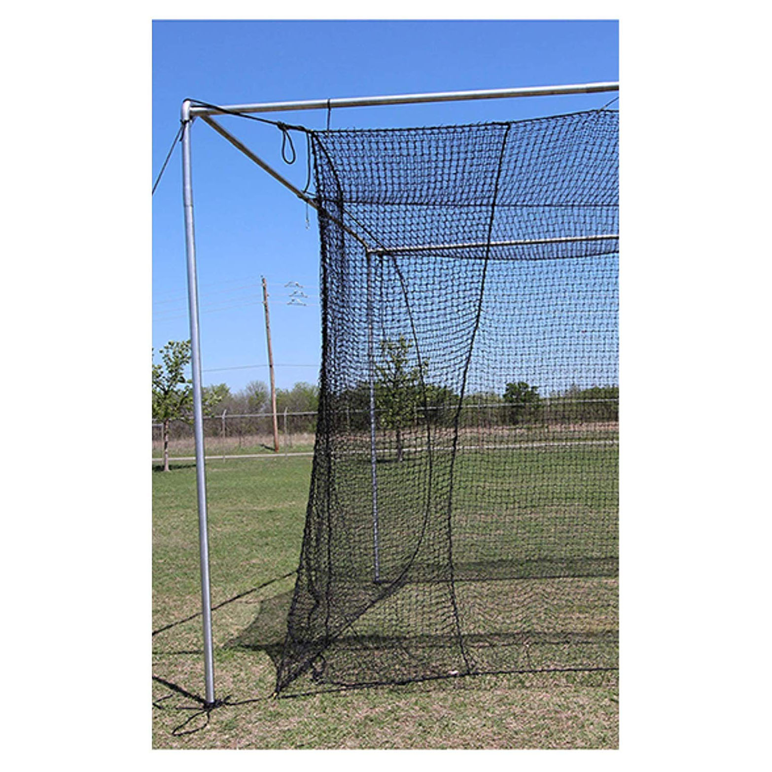 Cimarron Sports Outdoor Twisted Baseball Batting Cage Net ...