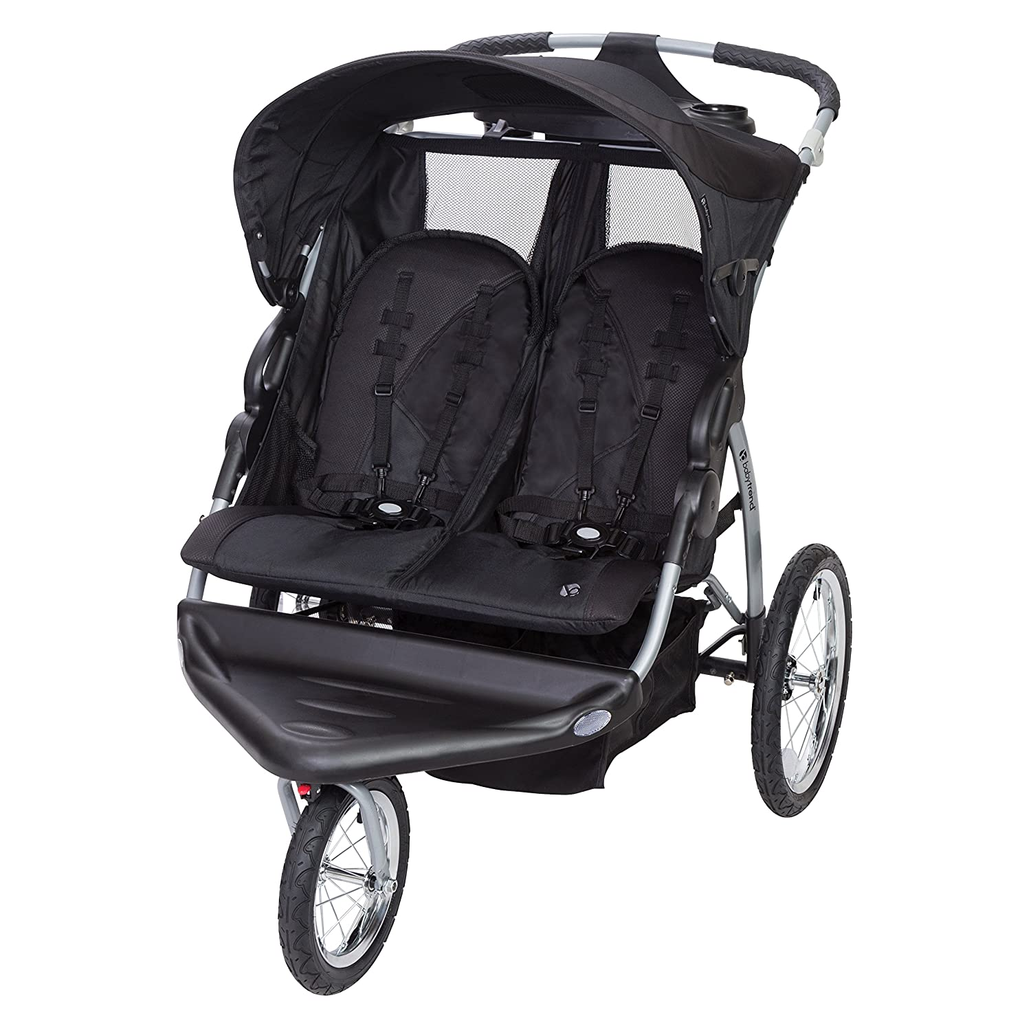 Baby Trend Expedition EX Swivel Travel Jogging Double Baby ...