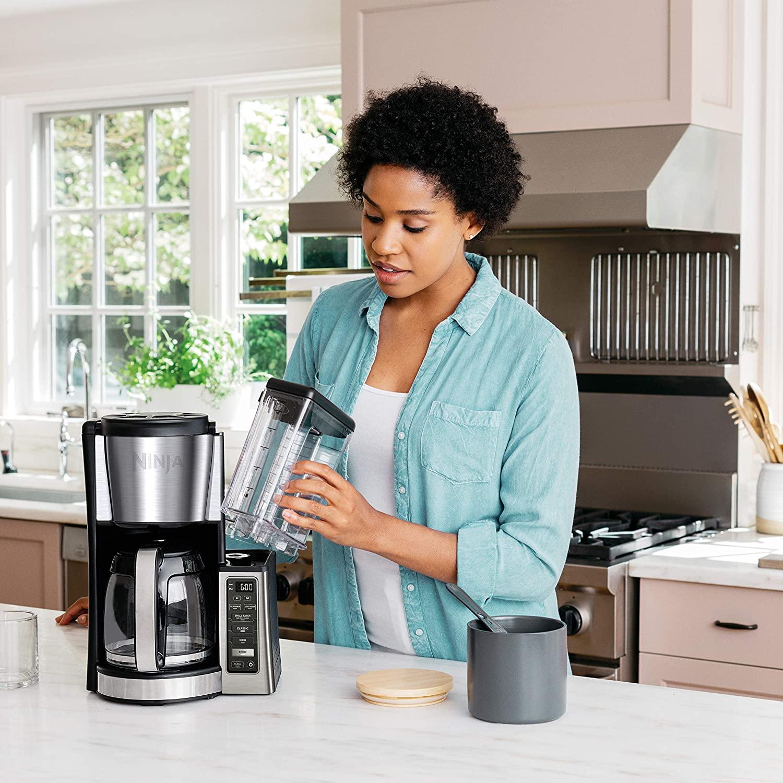 Ninja CE251 Intelligent Programmable Brew Home Coffee Maker w/ 12 C Glass Carafe 622356559225   eBay