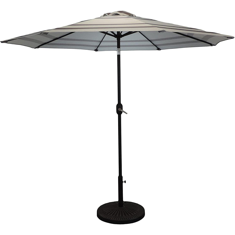 Pebble Lane Living Premium 9 Ft Market Patio Umbrella ... on Pebble Lane Living id=65066