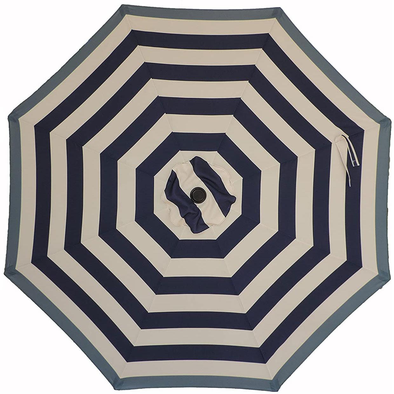 Pebble Lane Living 9 Ft Market Patio Umbrella, Navy Blue ... on Pebble Lane Living id=24720