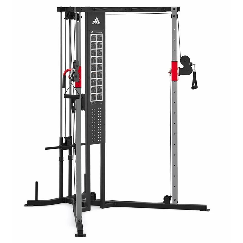 avance Arreglo Miau miau  Adidas 10360 Sports Rig Strength Trainer Home Gym Exercise Equipment  Machine | eBay