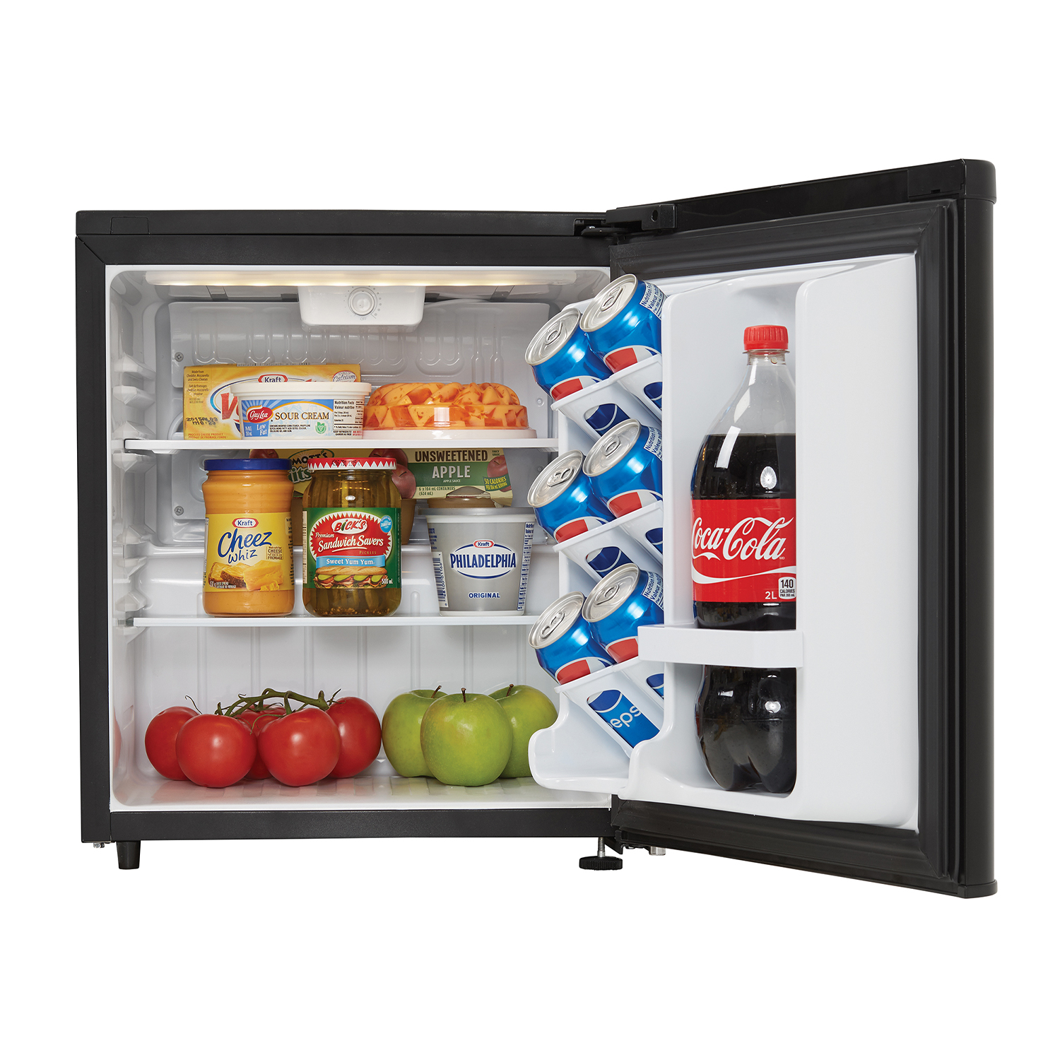 Danby-1-7-Cubic-Foot-Contemporary-Classic-Compact-Refrigerator-Stainless-Finish thumbnail 5