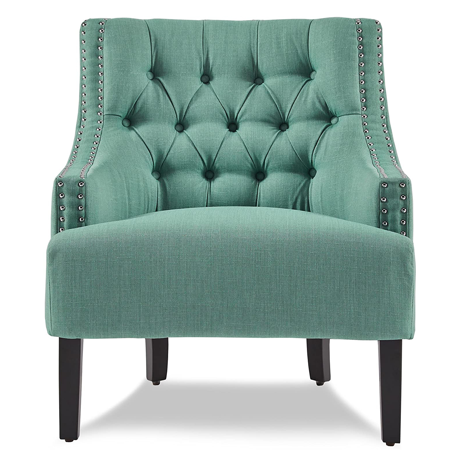 Homelegance Upholstered Diamond Tufted Accent Chair 18