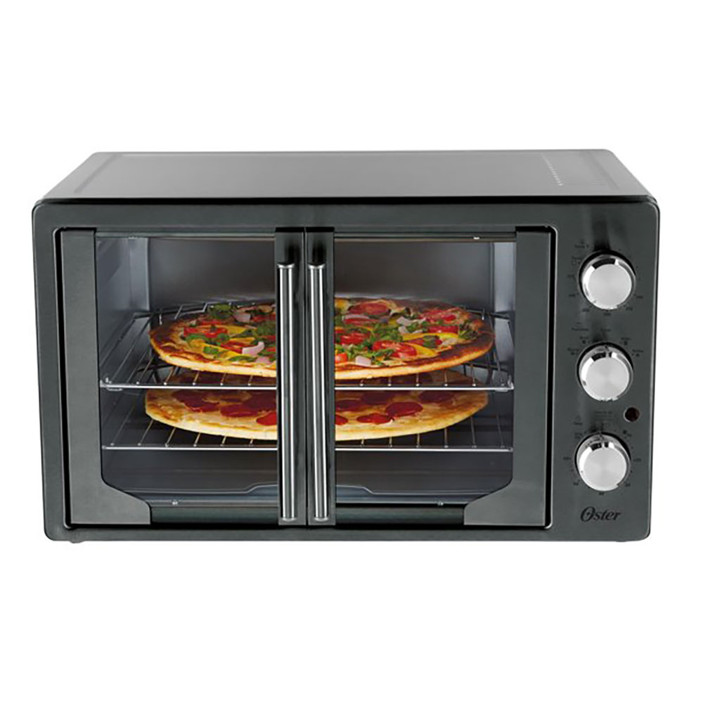 Oster French Door Turbo Convection Toaster Oven, Metallic ...