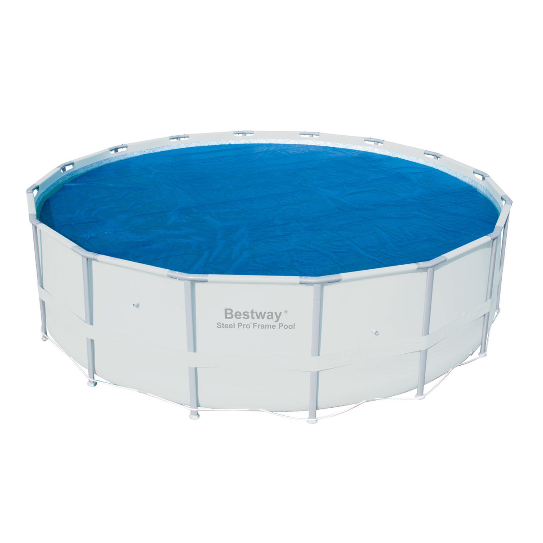 Bestway 15 foot round above ground swimming pool solar - Above ground heated swimming pools uk ...