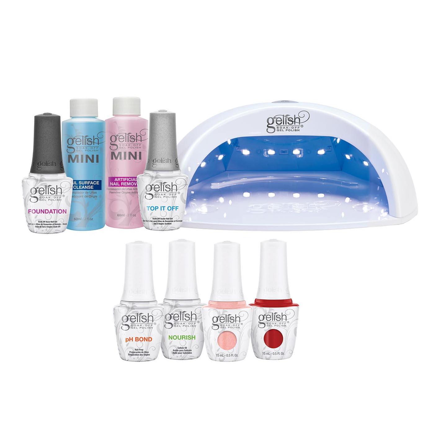 Nail Details Off Professional mL about Gel Lamp Soak Gelish Pro Kit Salon Polish LED Set15 rthQdCsxB