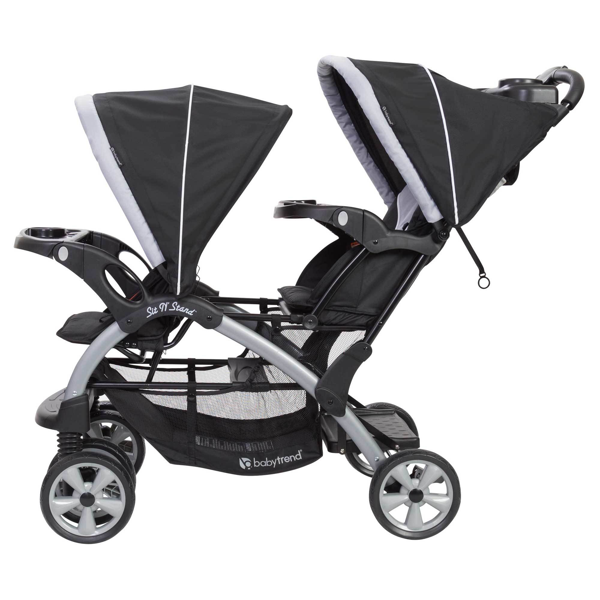 Baby Trend Sit N Stand Baby Double Stroller and 2 Infant ...